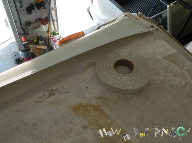09 08 Motorhome Rv Trailer Rubber Roof Repair
