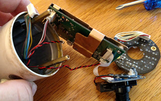 Phylink camera Pull boards out of housing