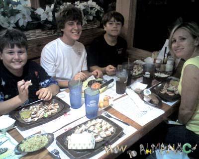 Dixie Crossroads Seafood Titusville Florida