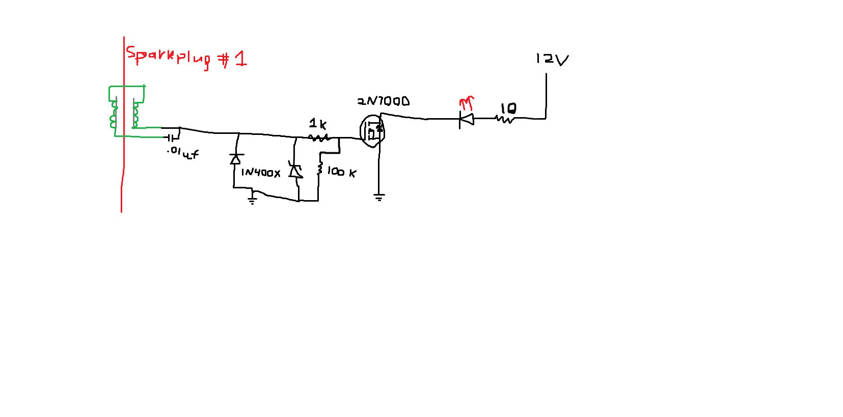 Make An Led Timing Light Parallel Wiring Diagram Ms Paint Schematic